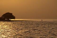 Desert Island - The Maldives Royalty Free Stock Images