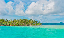 Desert islands. Banyak Archipelago, Indonesia, Southeast Asia royalty free stock photography