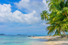 Desert islands in the Indian Ocean Royalty Free Stock Photography