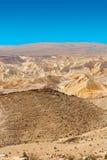 Desert in Israel Stock Photography