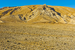 Desert in Israel Stock Image