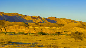 Desert in Israel Royalty Free Stock Photography