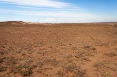 Desert  in Kazakhstan Stock Image