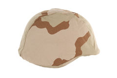 Desert Kevlar Helmet Stock Photo