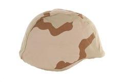 Desert Kevlar Helmet Stock Photo