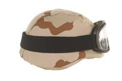 Desert Kevlar Helmet Stock Image