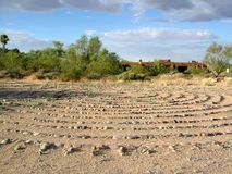 Desert Labyrinth  Royalty Free Stock Photo