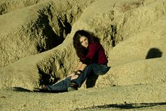 Desert lady Stock Image