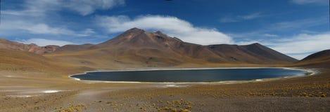 Desert Lagoon. Lagoon close at San Pedro de Atacama (Miscanti and Meñique Stock Photography