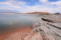Desert Lake Royalty Free Stock Photo