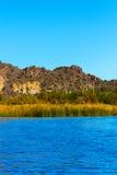 Desert Lake Royalty Free Stock Photos