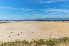Desert land in Cuba Royalty Free Stock Photography