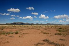 Desert Land Royalty Free Stock Photo