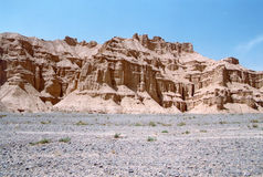 Desert landform Stock Photography