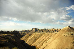 Desert landscape. Badlands national park in south Dakota, USA Royalty Free Stock Photos