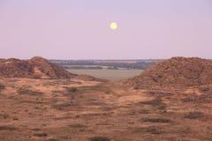 Desert landscape Stock Images
