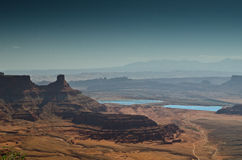 Desert landscape. Of Canyonlands National Park, Utah USA Stock Photography