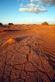 Desert landscape. In Sahara, Morocco, Africa Royalty Free Stock Photo