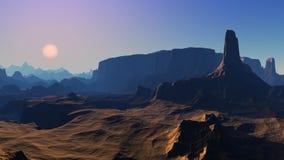 Free Desert Landscape Stock Photos - 9849613