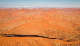 Desert Landscape (aerial view) Stock Photo
