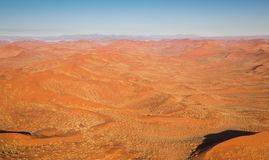 Desert Landscape (aerial view) Stock Images
