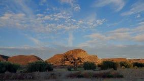 Ford Bravo in Almeria. Desert landscape of Almeria in Ford Bravo Royalty Free Stock Photography