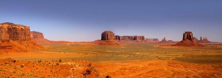 Desert landscape in the Arizona stock photography