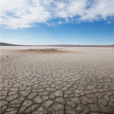 Desert landscape. Barren landscape photographed in the afternoon Stock Photography