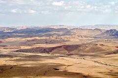 Desert landscape (Biblical scene) Royalty Free Stock Photo