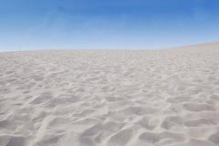 Desert landscape with blue sky Stock Images