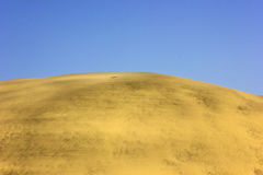 DESERT LANDSCAPE WITH CLEAR BLUE SKY Stock Image