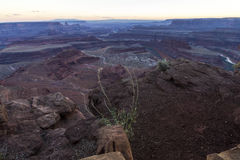 Desert Landscape of Dead Horse State Park Royalty Free Stock Image