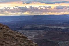 Desert Landscape of Dead Horse State Park Royalty Free Stock Images