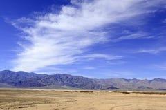 Desert Landscape, Death Valley, National Park Royalty Free Stock Images