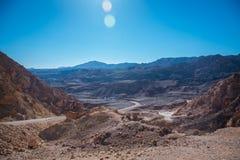 Blue sky landscape stock photo