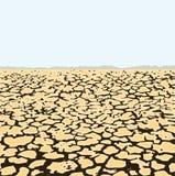 Desert landscape, vector  Stock Photos