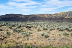 Desert landscape of eastern Washington state, USA Royalty Free Stock Photos