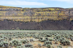 Desert landscape of eastern Washington state, USA Stock Photo