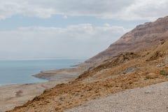Desert landscape of Israel, Dead Sea. Israel royalty free stock image