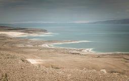 Desert landscape of Israel, Dead Sea. Israel royalty free stock images
