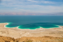 Desert landscape of Israel, Dead Sea, Jordan.  stock image