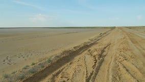 Desert landscape. stock video