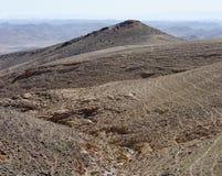 Desert landscape. Of Kidod Ceek near Arad in Negev, Israel Royalty Free Stock Photography