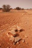 Desert landscape in Morocco Royalty Free Stock Photos