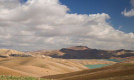Desert landscape in Morroco Stock Images