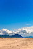 Desert landscape - nature background Royalty Free Stock Photo