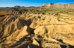 Desert landscape in Navarra Royalty Free Stock Image