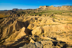 Desert landscape of  Navarra. Spain Royalty Free Stock Photo