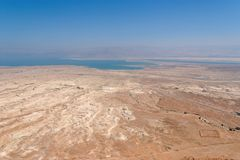 Desert landscape near the Dead Sea Stock Photos