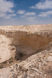 Desert landscape, Negev, Israel Royalty Free Stock Images